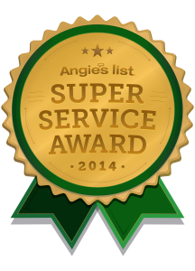 Angies Customer Service Award 2014